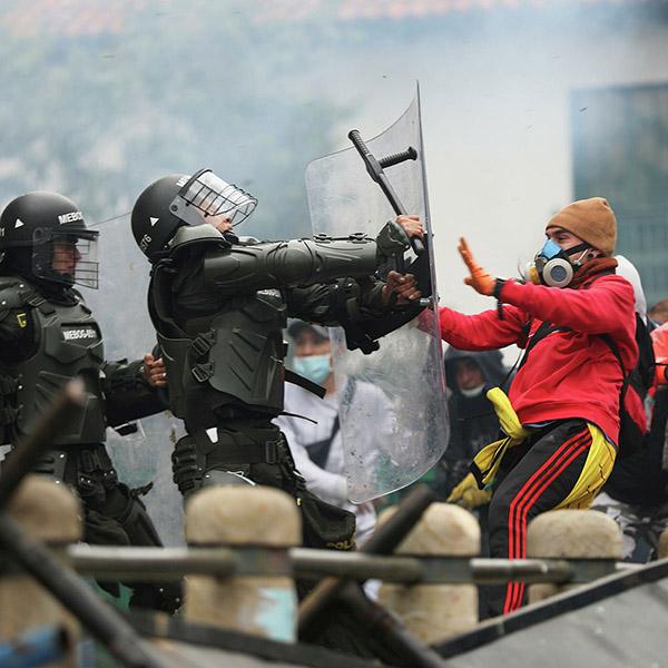 ¿Qué pasa con la policía en Colombia?