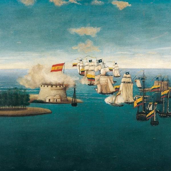 Sucedió en Cartagena: el almirante Padilla y la batalla de la Noche de San Juan