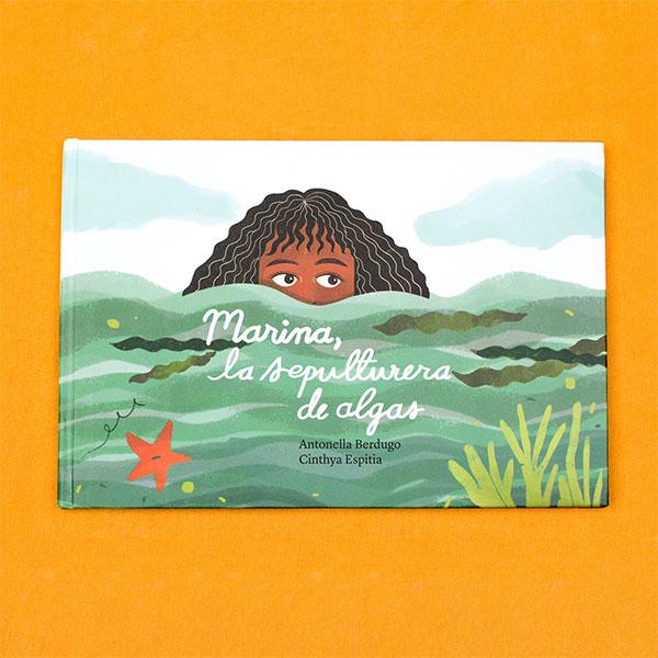 """""""Marina la sepulturera de algas"""": un libro álbum para leer frente al mar"""