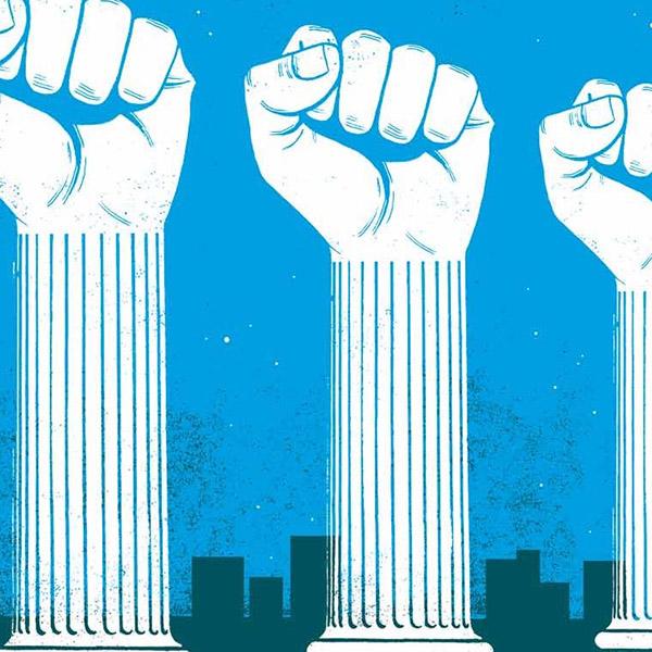 La democracia hecha trizas