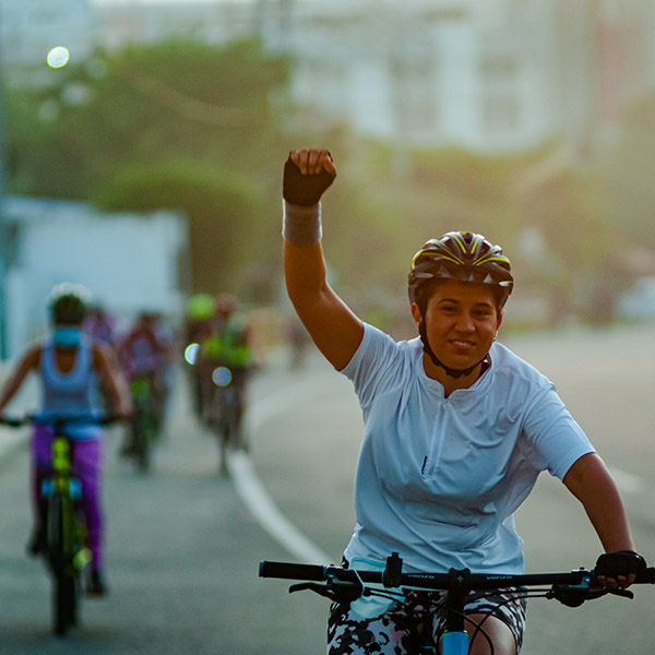 Barranquilleros amigos de la bicicleta piden más bicirrutas