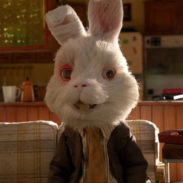 Ralph el conejo y la imagen del torturado