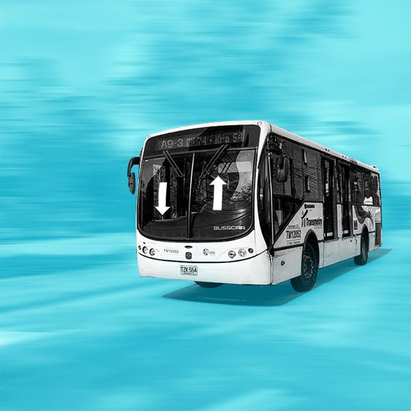 La mayoría tiene la vía: ideas para mejorar el Transmetro en Barranquilla