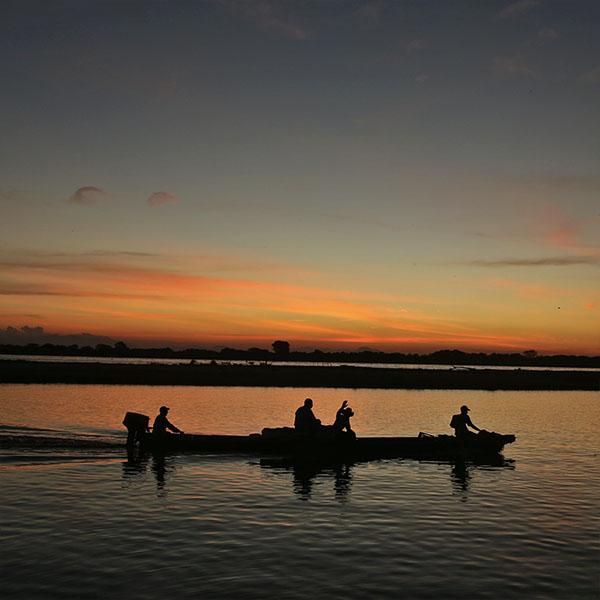 """""""La razón por la que Colombia existe como país es el río Magdalena"""": Wade Davis"""